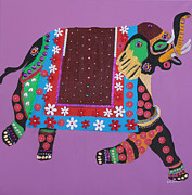 Kate Farrant - Painted Elephant