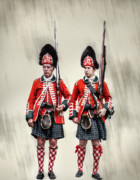 Randy Steele - Pair of British Royal Highlander...
