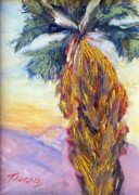 Southwest Paintings - Palm No. 1 by Terry Gonzales Fine Art