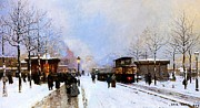Luigi Loir - Paris in Winter