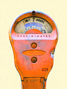 Wingsdomain Art and Photography - Park-O-Meter Parking Meter . One Hour...