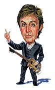 Paul Mccartney Painting Prints - Paul McCartney Print by Art