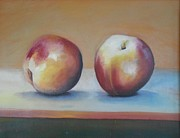 Hopper Paintings - Peaches 2 by Robert Foss