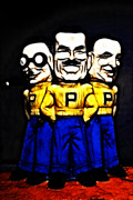 Wingsdomain Art and Photography - Pep Boys - Manny Moe Jack - Color...