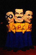 Wingsdomain Art and Photography - Pep Boys - Manny Moe Jack - Painterly -...