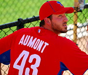 Phillies Photo Prints - Phillipe Aumont Print by Carol Christopher