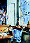Musical Instrument Paintings - Piano In The Sun by Hanne Lore Koehler