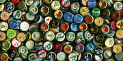 Wingsdomain Art and Photography - Pile of Beer Bottle Caps . 2 to 1...