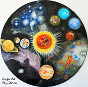 Universe - Planets and nebulae in a day by Augusta Stylianou