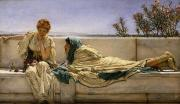 Pleading Framed Prints - Pleading Framed Print by Sir Lawrence Alma-Tadema