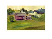 Dakotas Framed Prints - Plum Barn  Framed Print by Gloria Fredricks