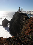 Wingsdomain Art and Photography - Point Bonita Lighthouse in The Marin...