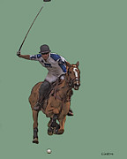 Polo Match Digital Art - Polo 11 by Larry Linton