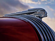 Collector Hood Ornament Digital Art Prints - Pontiac Chief Print by Douglas Pittman