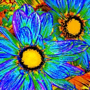 Amy Vangsgard - Pop Art Daisies 4
