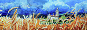 Portugal Art Paintings - Portugal Countryside by Hanne Lore Koehler