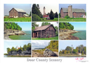 Peter L Wyatt - Poster - Door County Scenery -2