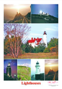 Peter L Wyatt - Poster - Lighthouses -1