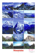 Peter L Wyatt - Poster - Mountains -1