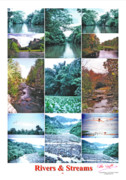 Peter L Wyatt - Poster - Rivers - Streams -1