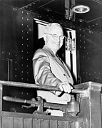 Government Photos - President Harry Truman by War Is Hell Store