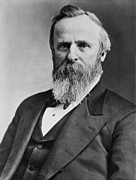 1880s Photos - President Rutherford B. Hayes by Everett