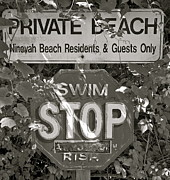 Hamptons Originals - Private Beach by William Moore