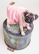 Edward Fielding - Pug Puppy Pink Sun Dress