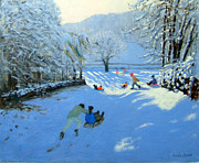 Andrew Macara - Pushing the Sledge