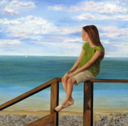 White Pebbles Originals - Quiet Moment by Roseann Gilmore