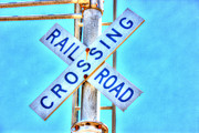 Barry Jones - Railroad Crossing Sign