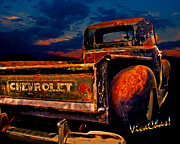 Chas Sinklier - Rat Rod Chevy Truck