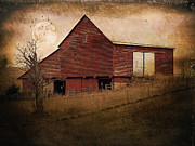 Kathy Jennings - Red Barn In The Evening