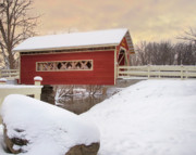 Joanne McKinnon - Red Covered Bridge