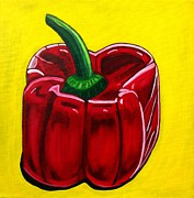 Sandra Marie Adams Prints - Red Pepper Print by Sandra Marie Adams