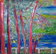 Patricia Taylor - Red Trees on the Blue Ridge