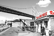 Wingsdomain Art and Photography - Reds Java House and The Bay Bridge in...