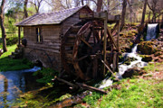Mill Photos - Reed Springs Mill by Steve Stuller