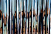 Abstractions - Reflections in Plastic Strips by Robert Ullmann