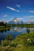 Jerry McElroy - Reflections of the Grand Tetons