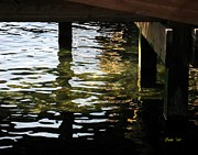 Dale   Ford - Reflections Under Pier