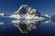 Antarctica - Reflections with ice