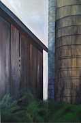 Hopper Paintings - Reifsteck Farm 2 by Robert Foss