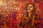 Meditation Paintings - Resonance by Nik Helbig