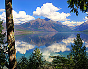 Marty Koch - Rflection on Lake McDonald