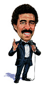 Laughing Painting Prints - Richard Pryor Print by Art  