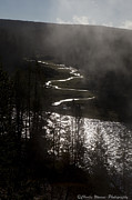 River Of Silver Fine Art Print by Charles Warren