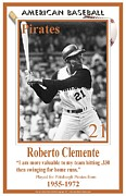 Roberto Digital Art - Roberto Clemente by  BlackMoxi