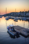 Matthew Green Acrylic Prints - Rockport Dawn Acrylic Print by Matthew Green