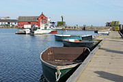 Massachusetts - Rockport Dinghy by Kathy Dahmen
